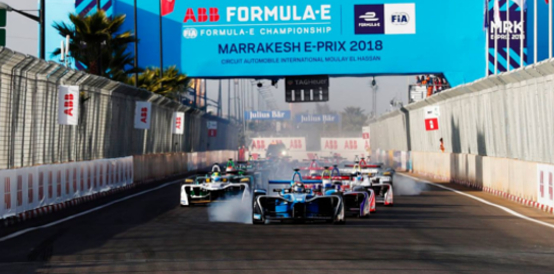 Dallara FIA Formula E Marrakesh