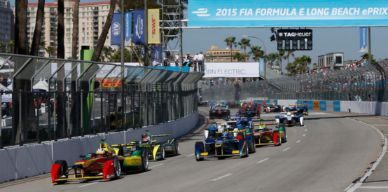 Dallara FIA Formula E Long Beach
